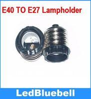 Free Shipping  E40 to  E27 conversion lamp light socket extension [ LedBluebll ]