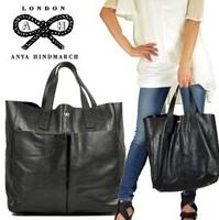 Anya hindmarch anya middot . women's genuine leather bag fashion one shoulder handbag women's handbag