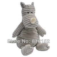 Jellycat Small Cordy Roy Plush Stuffed Animal Baby Doll Figure Gray Rhino 10""
