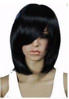 Ms. pop straight black wig|wigs Free shipping