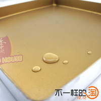 Baking mould gold right angle flat bakeware oven cake mould cake roll