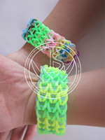 Silicone rubber band bracelets/Luminous silicone rubber band bracelets