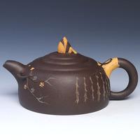 Tea set yixing teapot ore flower pot duck