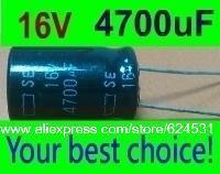 20 pcs Electrolytic Capacitors 4700uF 16V New Radial