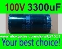 2 pcs Electrolytic Capacitors 3300uF 100V New Radial