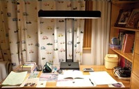 Eye reading lamp table lamp old td218b