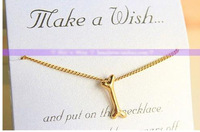 Free shipping whole sale Hot Sale Simple Beautiful Skull Heart pendant Necklace