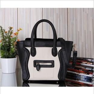 wholesale free shipping new Euramerican Style smiling handbags mini phantom bat bag fashion handbag Designer ladys' shoulder bag