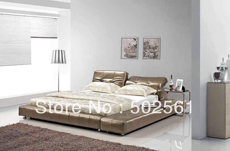 Genuine Leather King Size Bed Headboard 2830 Bed Mattress Sale