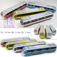 Free shipping High speed train model toy alloy acoustooptical WARRIOR plain