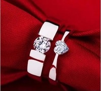 2013 Free Shiping Chow TAI FOOK  Ring Lovers Ring Wedding Ring