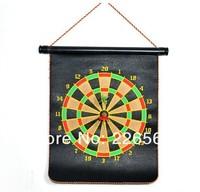 Free Shipping 1Piece 17inch Club Fun Magnetic Dart Board Pack Magnet Dartboard with 6 Magnetic Darts