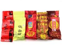 Do promotion 5 different flavors Chinese Fujian anxi tieguanyin oolong tea tie guan yin   black tea milk tea lapsang souchong