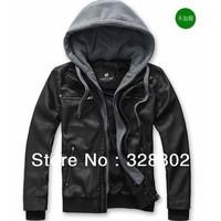 New 2014 Autumn High quality Fashion men's leather white leather jacket winter coat men jackets are man leather jacket man M-XXL