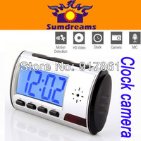 New Mini Digital USB Alarm Clock Camera Video DVR Hidden/Nanny Camera DV 640*480
