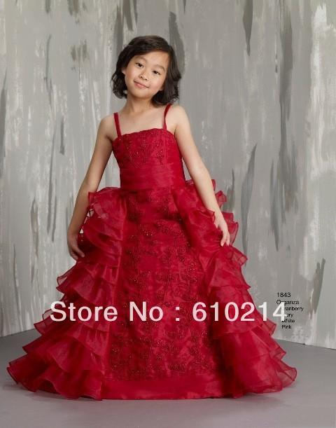 Dress Children Childrens Christmas Dresses