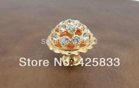 10pcs Luxury K9 Diamond Crystal Knob Super Shiny Kitchen Cabinet Door Hardware Drawer Pulls Shower Handle