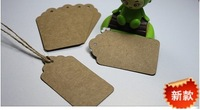 Wholesale DIY Blank price Gift tag 40x70mm 500pcs/lot