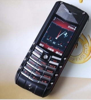 Hot sale Ascent GT luxury mobile phone internal 2GB memory luxury cell phone with stainless steel and leather