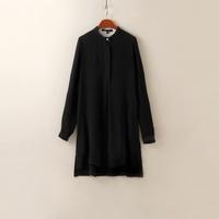 Yd921 luxury heavy silk one-piece dress