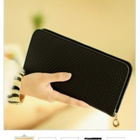 2013 new wave of female bag lady leather wallet clutch bag 201306WB361