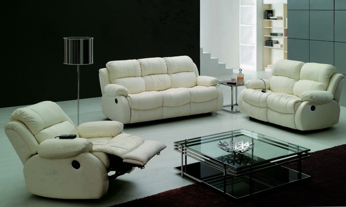 Modern Design Luxury 1 2 3 Modern Reclining Sofas Chair
