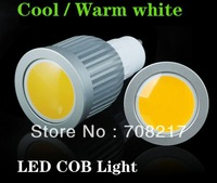 Hot sale GU10 High Power COB 10W Dimmable LED Spot  Light  Led Bulb Lamp 85V-265V free shipping