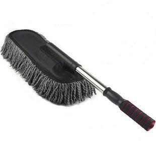 Retractable wax drag car wash wax brush wax shan car brush mop duster auto supplies brush(China (Mainland))