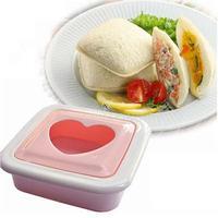 #Cu3 Love Heart Shape Sandwich Bread Toast Maker Mold Mould Cutter DIY Tool