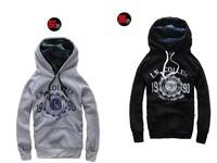 Men's Hoodies sweatshirt lovers design sweatshirt male top red Free shipping