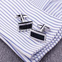 High Quality Brass Man Fashion Accessories Custom Agate Cufflinks With Free Shipping