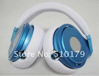 New Arrival Blue New Pro over-ear Headset of High Definition DJ Headphone Dropship Freeshipping