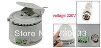 Gray 220V Indoor Monitoring Scanner Pan Tilt for Security Camera