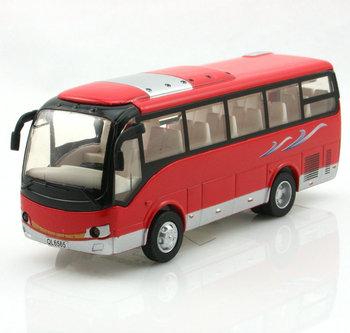 School bus small bus acoustooptical open the door WARRIOR cars alloy car model toy