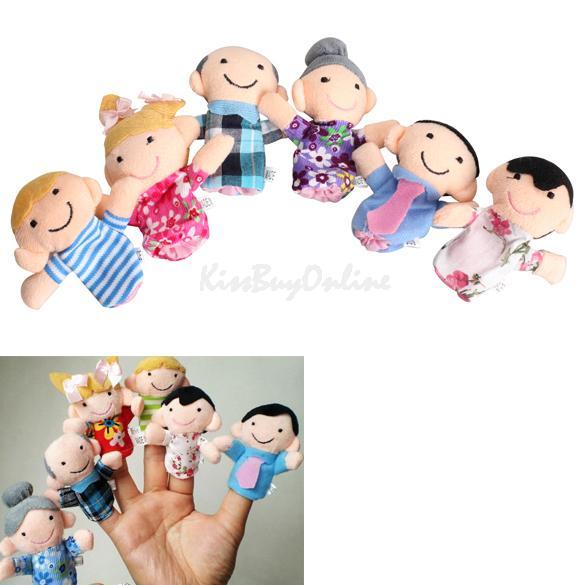 Перчаточная кукла 6Pcs Baby