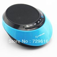 Free Shipping---2013 New Mini Super Vibration Portable Bluetooth Speaker Wireless speaker FM Radio TF Card music player
