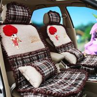 Pad MITSUBISHI lancer galant outlander car seat cover cartoon seat cushion four seasons