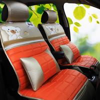 2013 bear cartoon car seat cushion carnival sylphy triumphant more four seasons seat cover