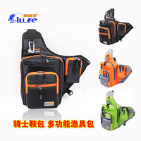 multifunctional fishing tackle bags with 3color ,for outdoor sport ,and fashion