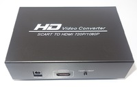 SCART to 1080P / 720P HDMI Converter w/ Power Adapter