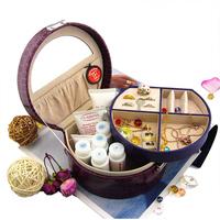 Bd casked cosmetic box jewelry cufflinks storage box storage box bucket cosmetic box measurement