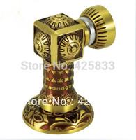 Gold Antique Copper Magnetic Door Stopper Holder Bronze Furniture Door Stops