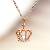 For nec  klace female accessories cross cutout stereoscopic zircon short design chain