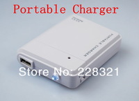 New 4 X AA Battery Portable Emergency  Charger  For iPhone iPod Android HTC Samsung S3 S4 Freeshipping