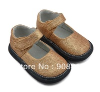 baby shoes girl silver gold toddlers kids glitter 6 7 8 9 10 2013 New party wear,sqeaky shoes squeaker