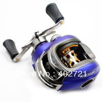 Free Shipping!! 1pc Fishing Baitcasting Reel Bait Caster RM300R 10+1 Ball Bearings Aluminium Spool Right Hand