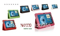 DHL Free shipping PU leather cover case for samsung galaxy note 10.1 N8000 P5100 50pcs/lot