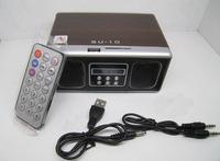 Su10 sound card sd usb flash drive speaker remote audio card reader audio radio