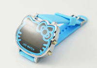 New Arrivals Products Watch Fashion hello kitty Silicone Rubbers Jelly Strap Hours Ion Unisex / Mens / Womens Boys Free shipping