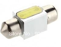 Bestselling Free Shipping LED 31mm 1.5W 100LM White Light LED Bulb for Car Instrument/Reading Lamp(12V) DIY
